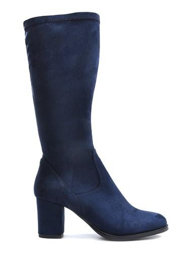 Vizon Ayakkabı Çizme Lacivert